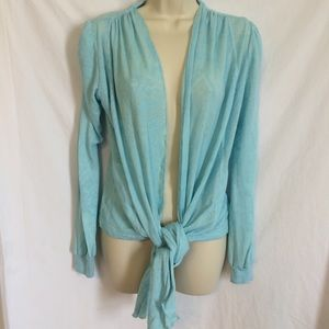 ATLETA light-weight sweater wrap seafoam green SM